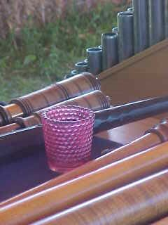 Cup and instruments