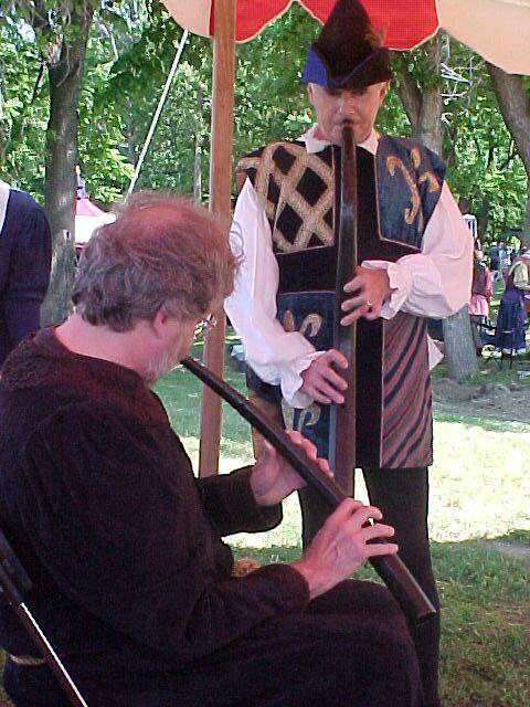 Antiqua members performing