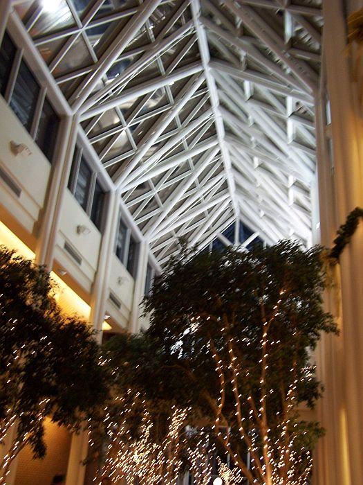 beautiful atrium