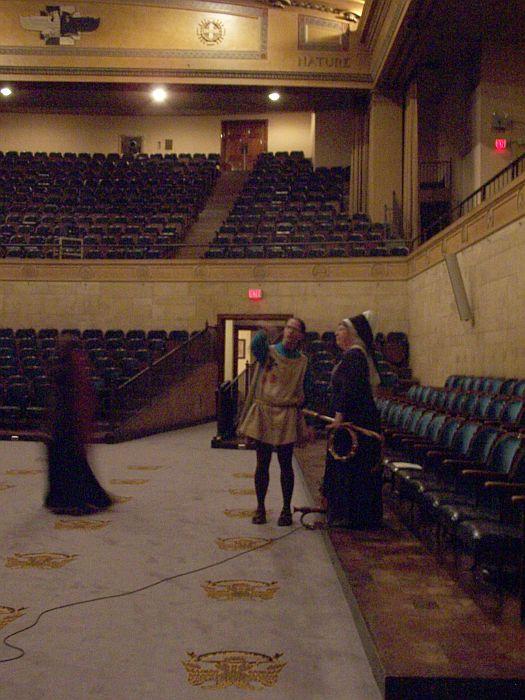 upstairs auditorium