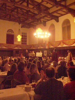 madrigal dinner performance