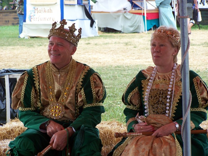 King and queen of faire