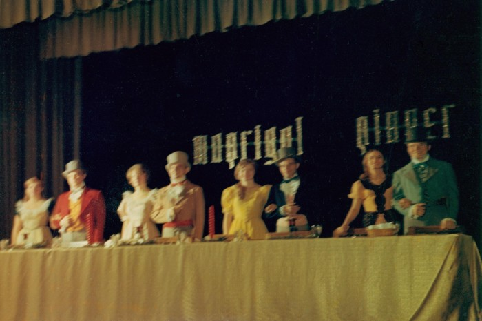 1967 Madrigal Dinner Head Table