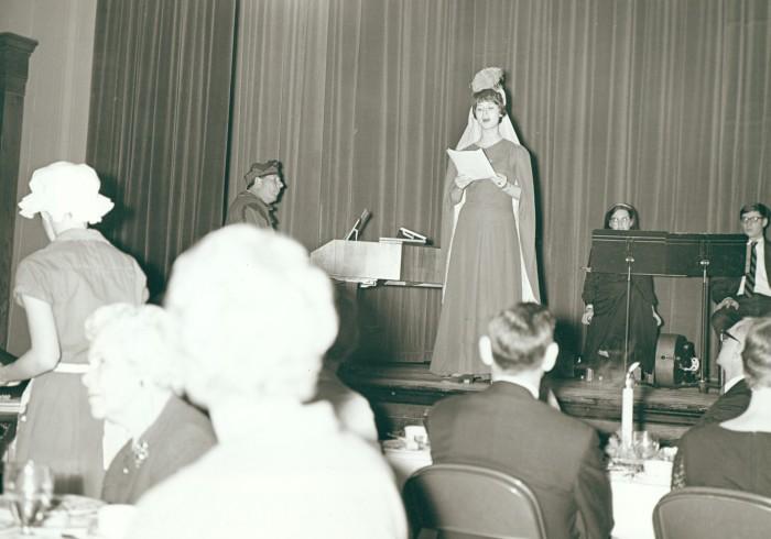 1968 Madrigal Dinner entertainment