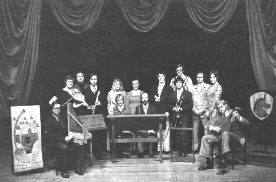 Fisher theatre : antiqua group photo