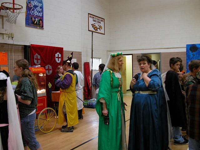 Overview of Eagle Grove Renaissance Fair