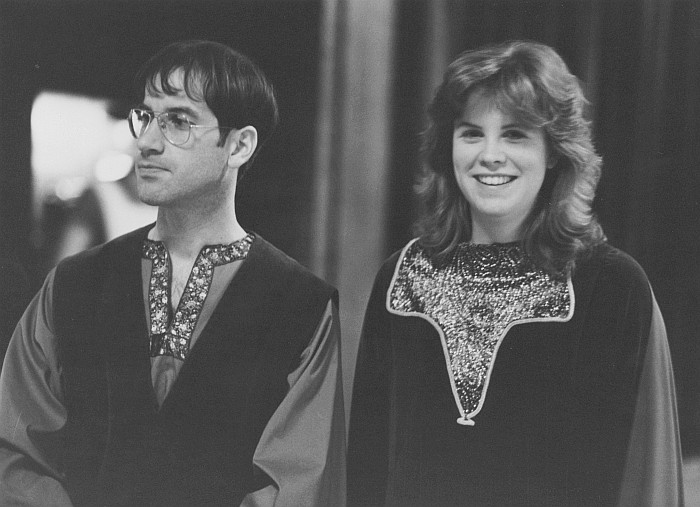 Alan Spohnheimer and Tracy Frank