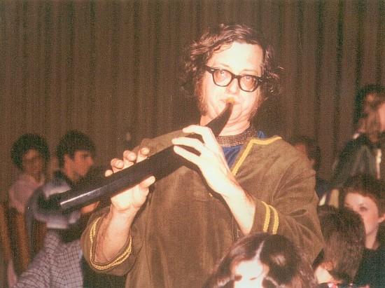 Doc Bleyle plays the zink