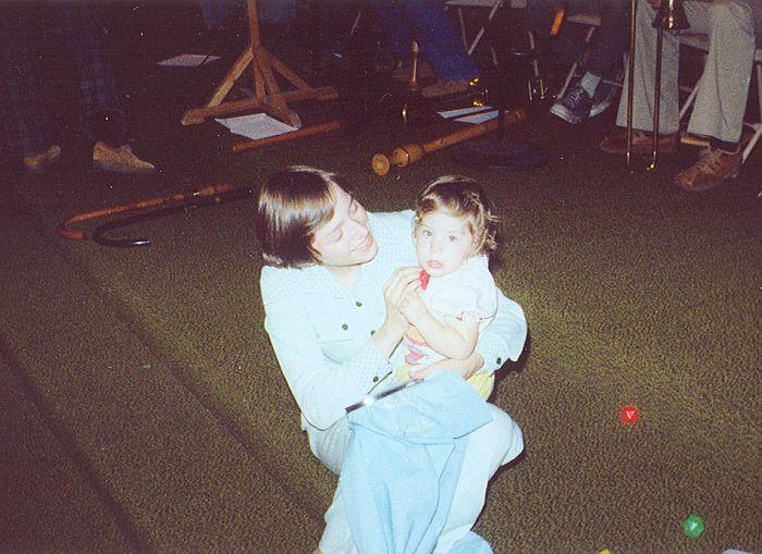 Gina with her daughter Sara