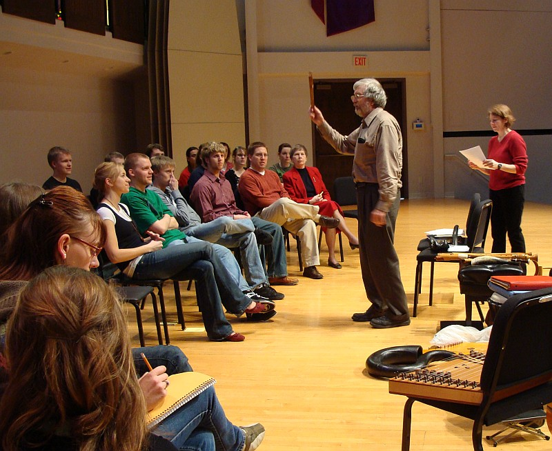 Working with Dordt College musicians