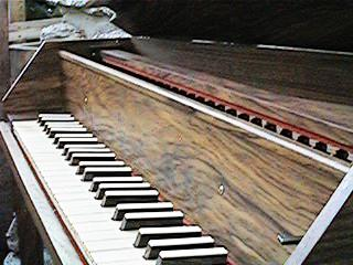 harpsichord keys