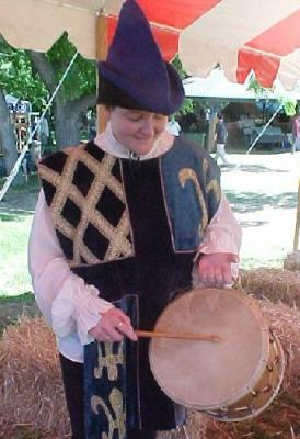 drum being played