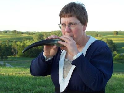 Gemshorn being played