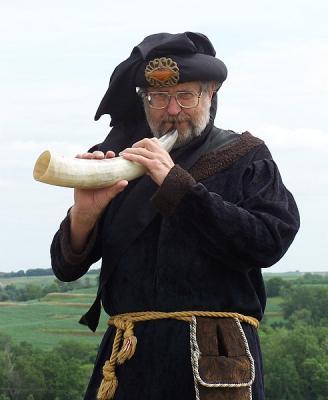 shofar being played