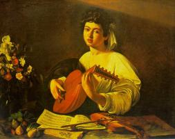 Lute Player 1 by Caravaggio