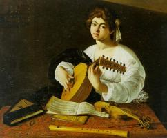 Lute Player 2 by Caravaggio