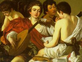 Musicians by Caravaggio