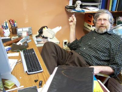 Dr. Bleyle in his office
