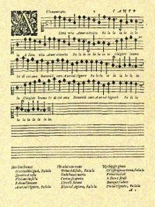 A lieta vita manuscript