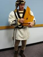 psaltery being played
