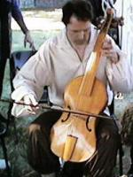 tenor viol being played