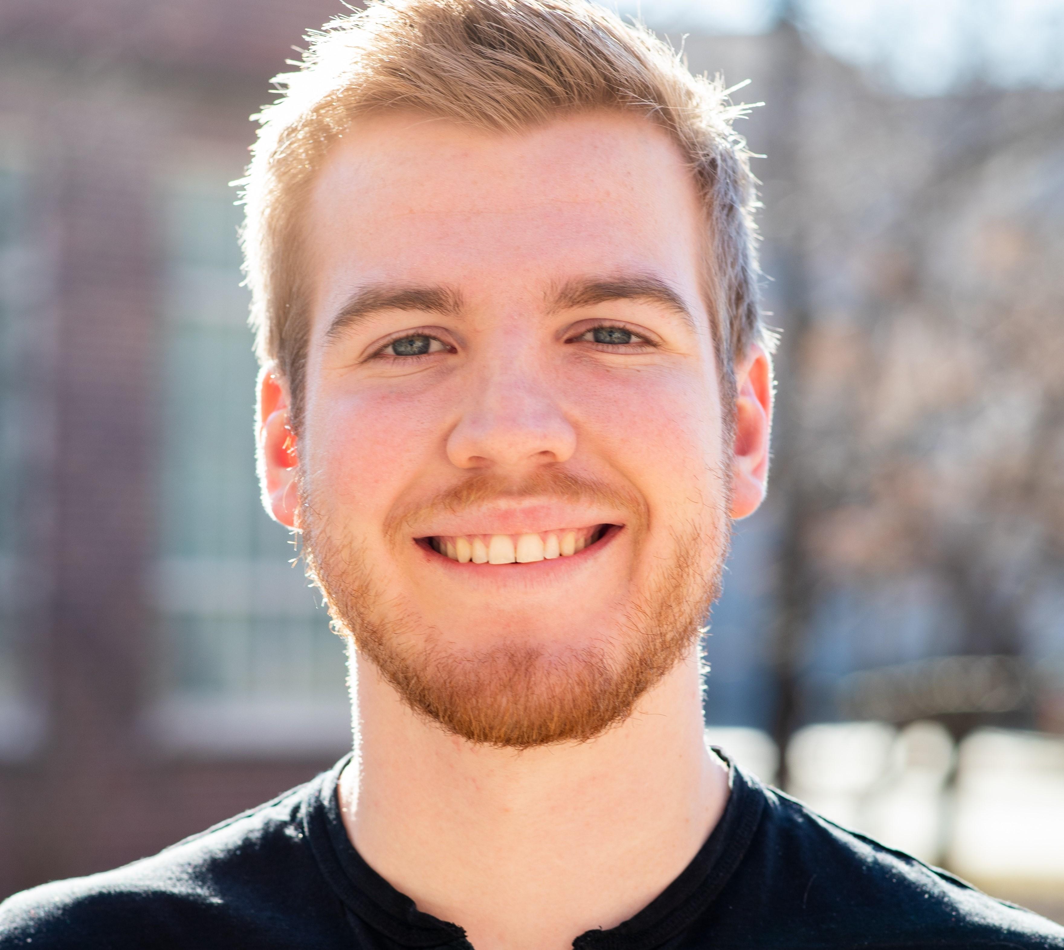 ISU Performing Arts Student Calvin Clark