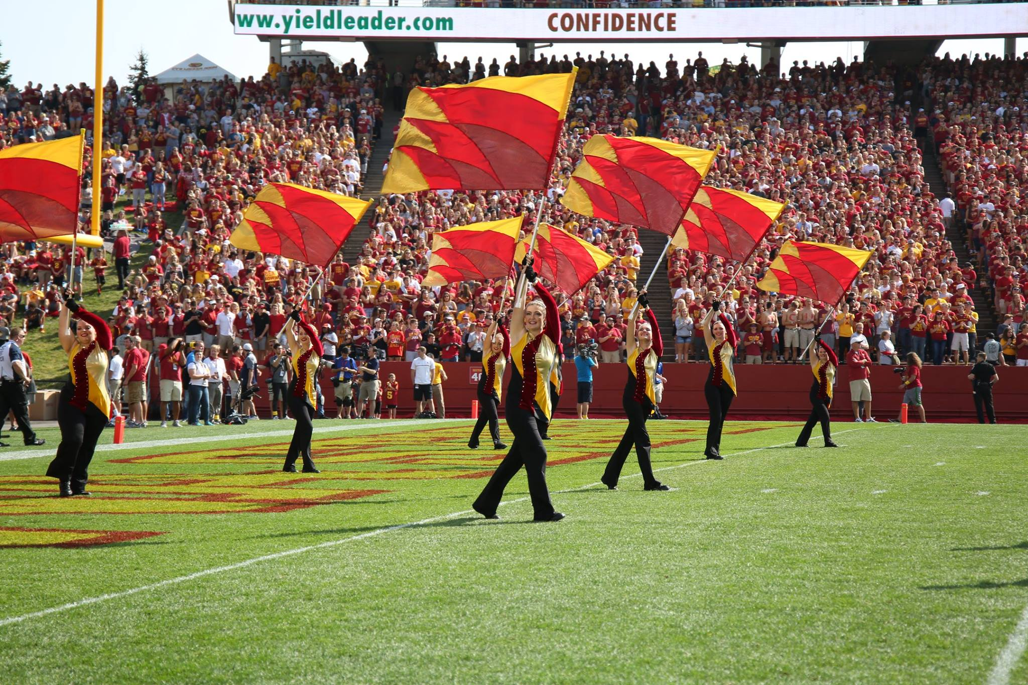 ISU Color Guard