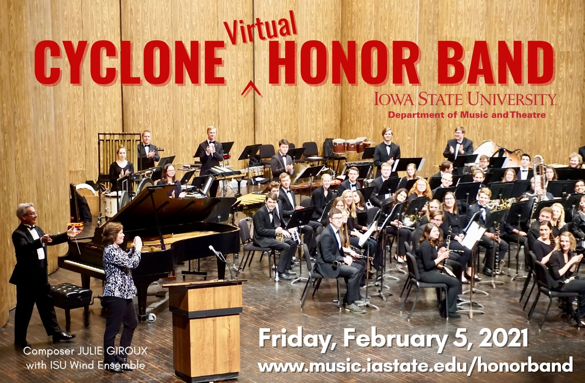 Cyclone Virtual Honor Band, Feb 5, 2021