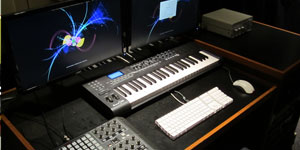 technical music equipment