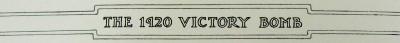 Victory Bomb Label