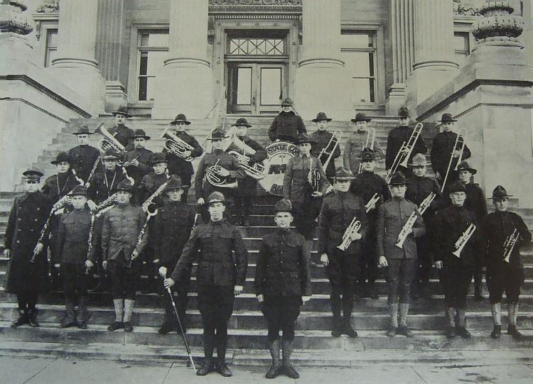 1920 Iowa State College Band