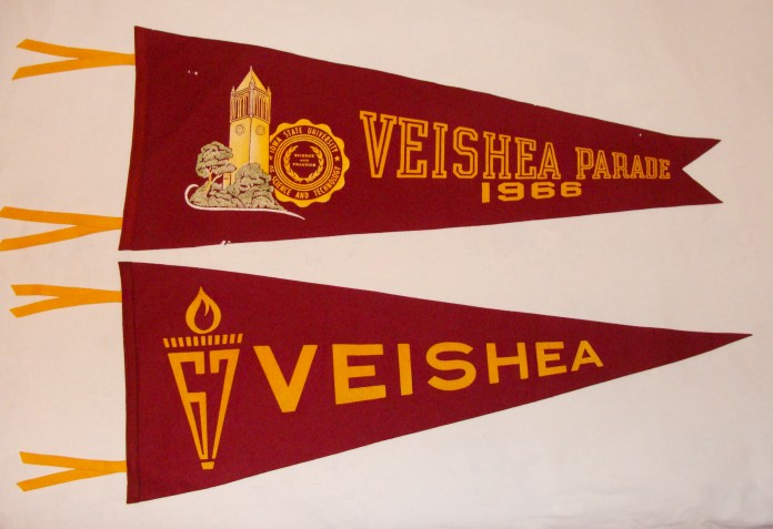VEISHEA parade participation flags