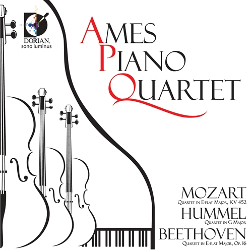 Amara Piano Quartet CD Cover