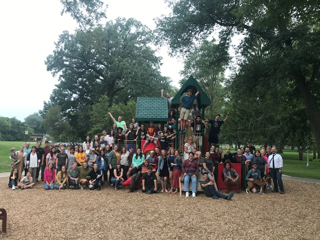 ISU Theatre and Performing Arts Welcome Picnic, Fall 2018