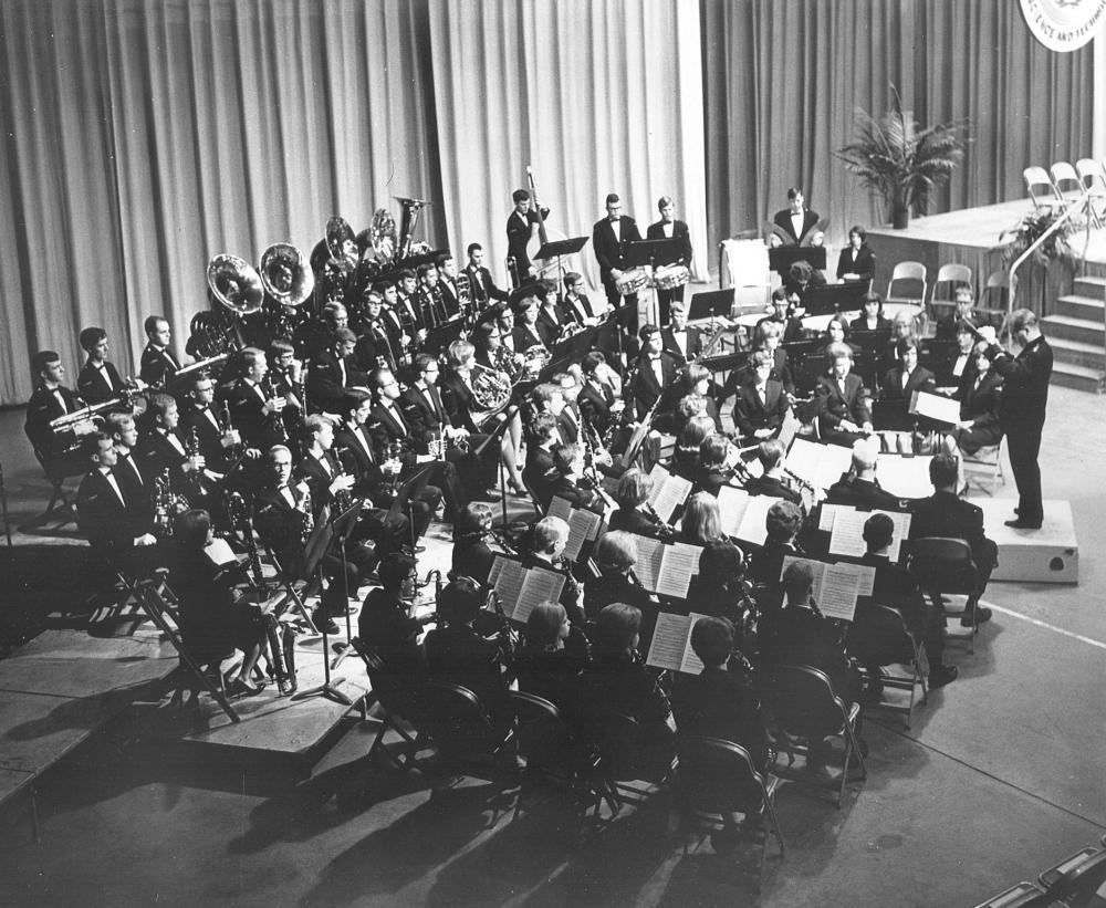 1966 Frank Piersol's last concert