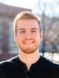 ISU Theatre student Calvin Clark