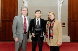 Adam McDonald Honored with Distinguished Alumni Award