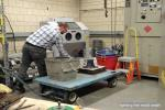 Lighting the mold wash
