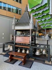 Campanie-Carillon Model at Sukup Atrium