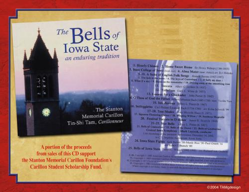 The Bells of Iowa State CD Poster