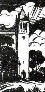 B&W Carillon drawing