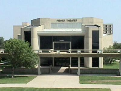 Fisher Theater exterior
