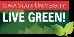 ISU Live Green logo