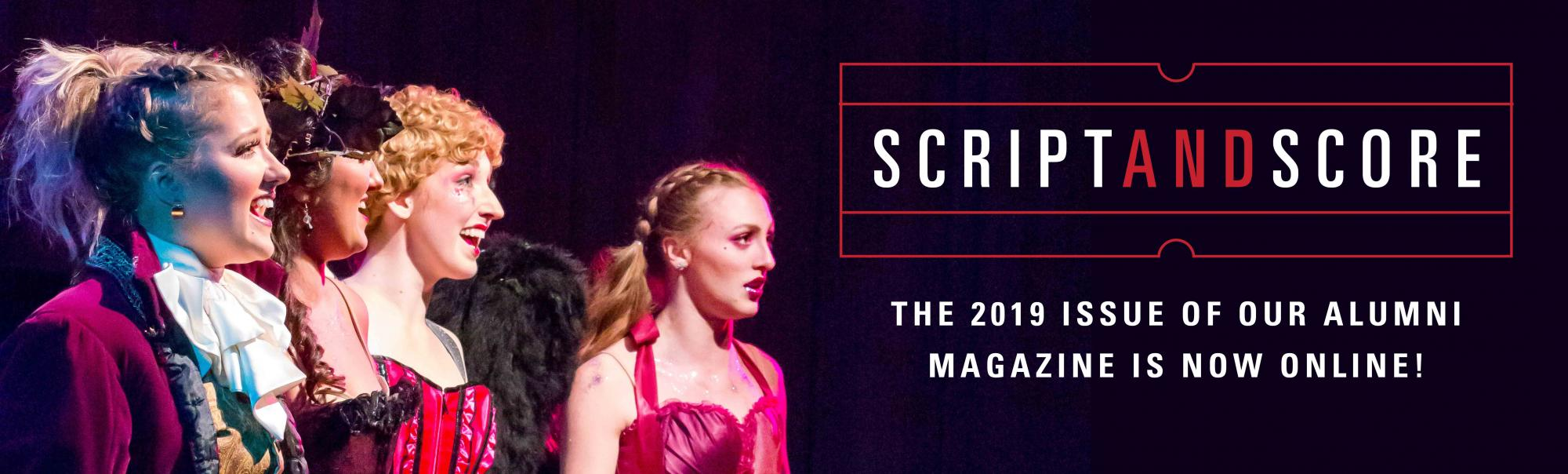 Script and Score magazine