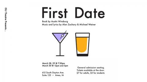 Poster for First Date.