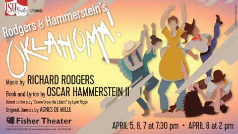 Poster for Oklahoma!.