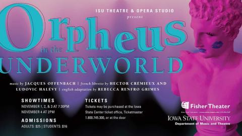 Poster for Orpheus in the Underworld.