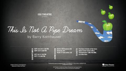 Poster for This Is Not a Pipe Dream.