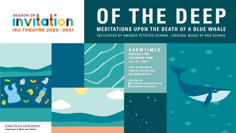 Poster for Of the Deep: Meditations Upon the Death of a Blue Whale.