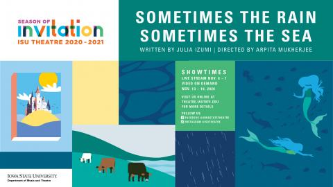 Poster for Sometimes the Rain, Sometimes the Sea.